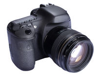 DSLR Digital Camera Stock Photos