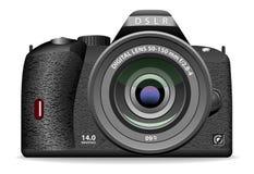 DSLR fotocamera royalty-vrije illustratie