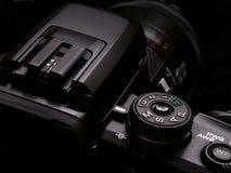 DSLR-kamera Arkivfoto