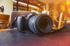 DSLR Kamera Lizenzfreie Stockfotos