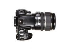 DSLR Kamera - Draufsicht Stockfotos