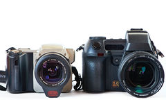 DSLR-kameror Arkivbilder