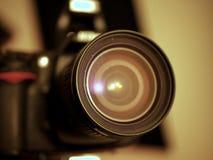 DSLR kamery obiektywu szkło Obraz Stock