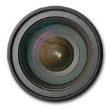 Dslr lens 2 Royalty Free Stock Image