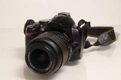 DSLR met lens Royalty-vrije Stock Fotografie
