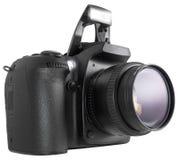 DSLR noir Photographie stock