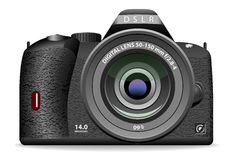 DSLR photo camera Stock Photography