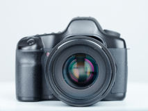 DSLR photo camera Royalty Free Stock Photos