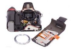 DSLR photocamera Royalty Free Stock Photos