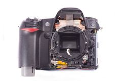 DSLR photocamera Stock Images
