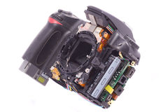 DSLR photocamera Stock Images