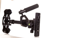 DSLR steadicam flycam,Steadicam - a device to stabilize the camc Stock Photo