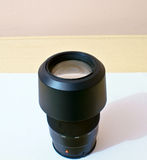 DSLR zoom lens. A zoom lens which can be used in DSLR/SLR camera for capturing far off objects Royalty Free Stock Photos