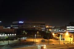 DSV-byggnad i El Segudo royaltyfri foto