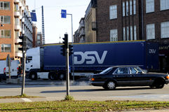 DSV TRUCKING. Copenhagen / Denmark_ 08th. November 2016 _  DSC Trucking lorry .      Photo. Francis Joseph Dean/Deanpictures Stock Images