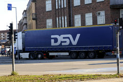 DSV TRUCKING. Copenhagen / Denmark_ 08th. November 2016 _  DSC Trucking lorry .      Photo. Francis Joseph Dean/Deanpictures Stock Photos