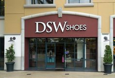DSW Shoes Exterior Royalty Free Stock Photo