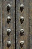 Détail antique de trappe Images stock