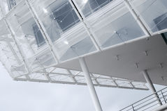 Détail architectural d'un bâtiment moderne à Hambourg Photo stock