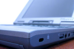 Détail d'ordinateur portatif Photos stock