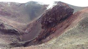 Détail de cratère Image libre de droits
