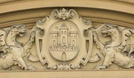 Détail de décoration de façade Photographie stock libre de droits