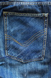 D?tail de jeans Images libres de droits