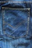 D?tail de jeans Images libres de droits