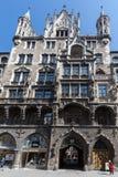 Nouveau hôtel de ville Munich Photographie stock libre de droits