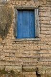 Détail de la technique d'architecture d'acacia et d'enduit Photo libre de droits
