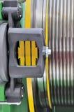 Détail de machine d'ascenseur Photographie stock libre de droits