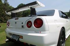 Détail faisant le coin arrière de Supercar Image stock