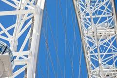 Détails d'oeil de Londres Photographie stock