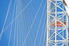 Détails d'oeil de Londres Photo libre de droits
