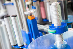 Détails d'équipement industriel  Photos stock