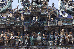 Détails sur le temple chinois Photo stock
