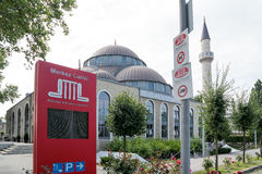 DTIP Mosque in Duisburg, Germany Royalty Free Stock Photography