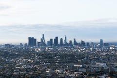 DTLA Skyline stock photography