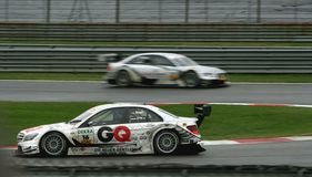 DTM 2010 - Adria Royalty Free Stock Image