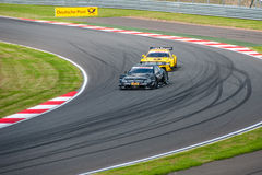 DTM (Deutsche Tourenwagen Meisterschaft), Moscou, Rússia, 2013 08 04 Imagens de Stock