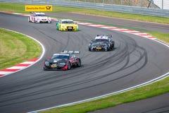 DTM (Deutsche Tourenwagen Meisterschaft), Moskou, Rusland, 2013 08 04 Royalty-vrije Stock Foto