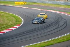 DTM (Deutsche Tourenwagen Meisterschaft) MRW (canalizzazione) di Mosca, Mosca, Russia, 2013 08 04 Fotografia Stock