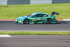 DTM (Deutsche Tourenwagen Meisterschaft) on MRW (Moscow RaceWay), Moscow, Russia, 2013.08.04 Royalty Free Stock Photo