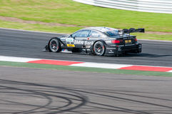 DTM (Deutsche Tourenwagen Meisterschaft) on MRW (Moscow RaceWay), Moscow, Russia, 2013.08.04 Royalty Free Stock Photos