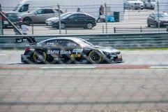 DTM (Deutsche Tourenwagen Meisterschaft) on MRW (Moscow RaceWay), Moscow, Russia, 2013.08.04 Royalty Free Stock Photography