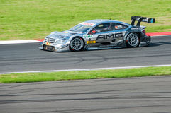 DTM (Deutsche Tourenwagen Meisterschaft) on MRW (Moscow RaceWay), Moscow, Russia, 2013.08.04 Royalty Free Stock Photography