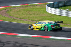 DTM (Deutsche Tourenwagen Meisterschaft) on MRW (Moscow RaceWay), Moscow, Russia, 2013.08.04 Stock Photography