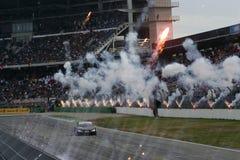 DTM race. Round 11=Final race, GERMANY,Circuit Hockenheim, October 26th 2008,Timo SCHEIDER(GER),GW:plus/Top Service Audi A4 DTM 08,#Audi Sport Team Abt Royalty Free Stock Photos