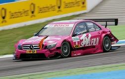 DTM race. In GERMANY,Circuit Hockenheim,May 17th 2009: Susie Stoddart(GBR);#TV Spielfilm AMG Mercedes C-Klasse 08 Stock Photo