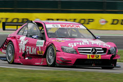 DTM race Stock Photo